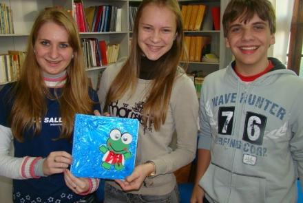 Obras fazem dos estudantes criativos autores em várias formas de expressão.